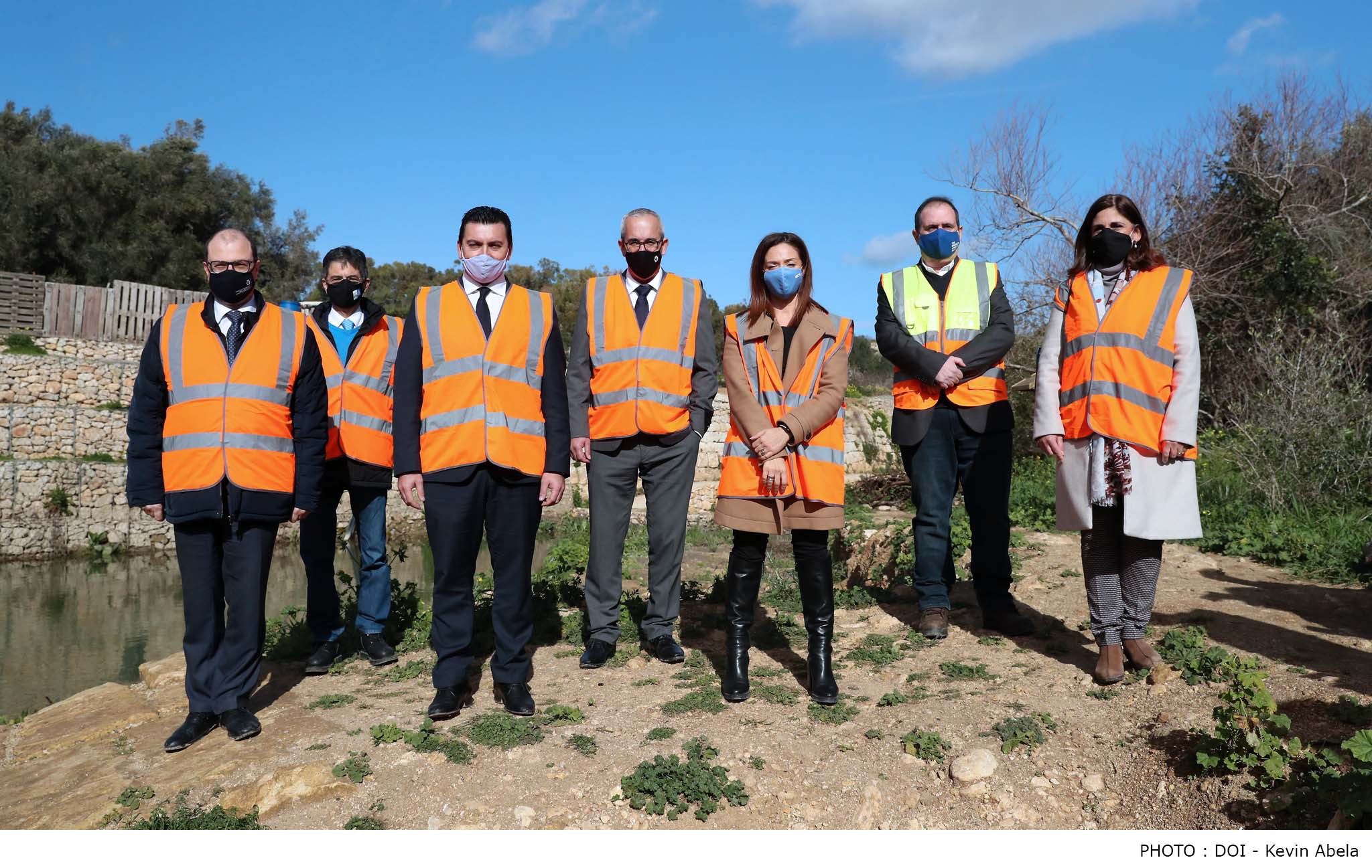 Agreement between the Government and Nature Trust Malta for better management of Chadwick Lakes.